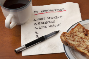 my resolution - napkin concept
